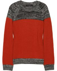 Thakoon - Colorblock Wool and Cashmereblend Jumper - Lyst