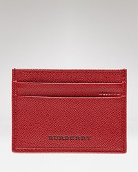 Burberry Lon Credit Card Case - Lyst