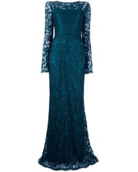 Dolce & Gabbana Lace Maxi Dress - Lyst