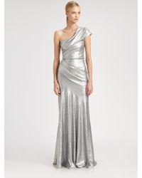 Donna Karan New York Sequined Gown - Lyst