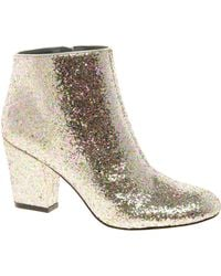 Asos Asos All That Jazz Glitter Ankle Boots - Lyst