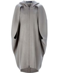 Haider Ackermann Hooded Cape - Lyst