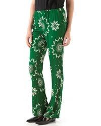 Piamita - Nan Print Trousers - Lyst