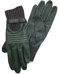 Club Monaco - Wanda Moto Gloves - Lyst