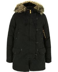 Denim & Supply Ralph Lauren - W32 Jsnor Bcnny Black Snorkel Jacket - Lyst