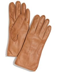 Madewell - Leather Driving Gloves - Lyst