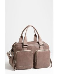 Marc By Marc Jacobs Maverick Whillas Satchel brown - Lyst