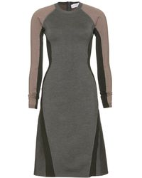 Stella McCartney Stretch Knit Dress - Lyst