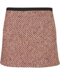 Topshop Fluro Boucle Pelmet Skirt - Lyst