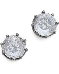 Juicy Couture - Oversized Stud Earrings - Lyst