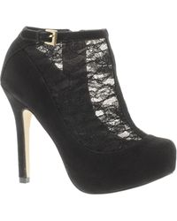 Asos Twinkle Shoe Boots with Lace Detail - Lyst