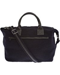 Calabrese Bags - Navy Lipari Canvas Holdall - Lyst