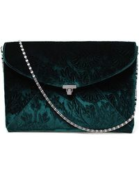 L'Wren Scott - Velvet Brocade Envelope Clutch - Lyst