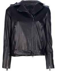 MSP | Leather Biker Jacket | Lyst