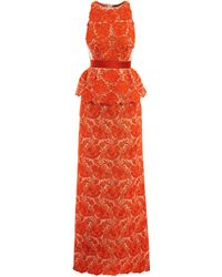 Stella McCartney Josephine Lace Dress - Lyst