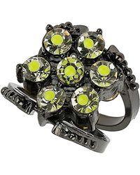 TOPSHOP - Reversible Neon Ring - Lyst