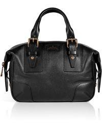 Belstaff - Black Leather Ancaster Bag - Lyst