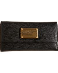 Marc By Marc Jacobs Classic Q Long Trifold Wallet - Lyst