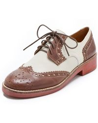 Steven by Steve Madden - Banx Two Tone Oxfords - Lyst
