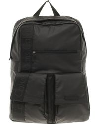 Calvin Klein Black Backpack - Lyst
