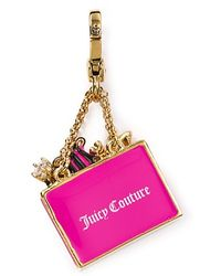 Juicy Couture - Shopping Bag Charm - Lyst