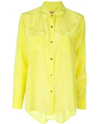 Juicy Couture Long Sleeve Shirt - Lyst
