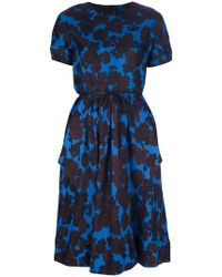 Marc By Marc Jacobs Floral Printed Dress - Lyst