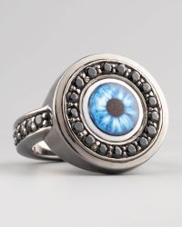 M.c.l  Matthew Campbell Laurenza - Multicolor Evil Eye Ring - Lyst