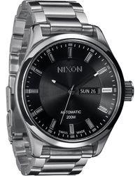 Nixon The Automatic Ii Bracelet Watch - Lyst