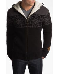 The North Face Selawik Hooded Zip Sweater - Lyst