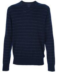 Tommy Hilfiger Striped Sweater - Lyst