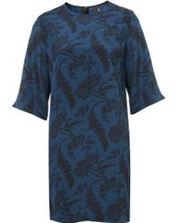 Topshop Peacock Bell Dress By Boutique - Lyst