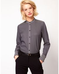 ASOS Collection Asos Shirt in Tie Jacquard - Lyst