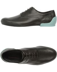 Camper Leather Laceup Shoes - Lyst