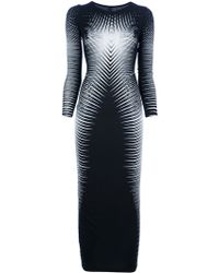 Gareth Pugh Graphic Dress - Lyst