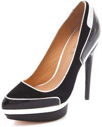 L.A.M.B. - Ohio Platform Court Shoes - Lyst