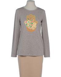 Manoush Long Sleeve Tshirt - Lyst