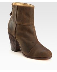 Rag & Bone Classic Newbury Suede Ankle Boots - Lyst