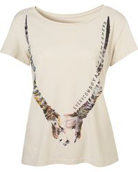 Topshop Longhorn Tee By Second Son By T Squad - Lyst