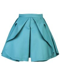 Antonio Berardi Pleated Skirt - Lyst