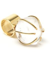 Kelly Wearstler | Quartz Prong Cocktail Ring | Lyst