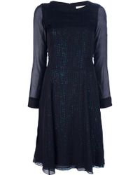 Vanessa Bruno Layered Dress - Lyst