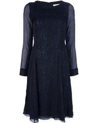 Vanessa Bruno Layered Dress - Lyst