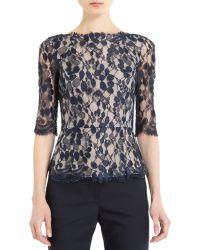 Erdem - Narissa Lace Shirt - Lyst