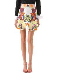 Josh Goot - Flower Brocade A Line Skirt - Lyst