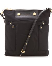 Marc By Marc Jacobs Preppy Nylon Sia Bag - Black - Lyst