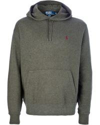 Polo Ralph Lauren Hooded Sweater - Lyst