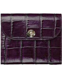 Temperley London Temperley Pocket Filofax purple - Lyst
