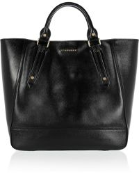 Burberry Shoes & Accessories Somerford Patentleather Tote - Lyst