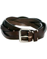 Edwin - Leather Belt - Lyst